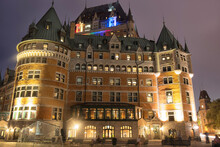 Chateau Frontenac At Night In ...