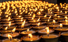 Candles Lit For Worship, Tamzh...