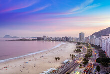 View Of Copacabana Beach And A...