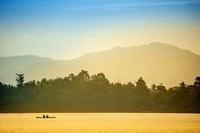 A Local Fisherman In A Traditi...