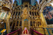 Interior Of The Assumption Cathedral In Smolensk, Smolensk Oblast