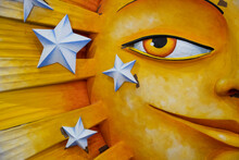 Detail Of A Giant Sunshine Mad...