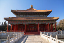 Hall Of Imperial College In Confucius Temple, Beijing, China