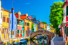 Colorful Houses Of Burano Isla...
