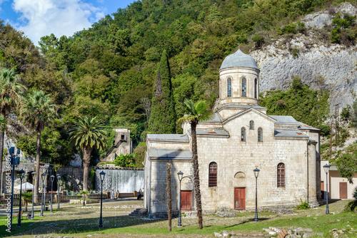 St. Simon the Canaanite church, New Athos, Abkhazia Wallpaper Mural
