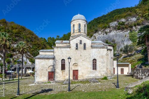 St. Simon the Canaanite church, New Athos, Abkhazia Canvas Print