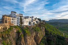 Spain, Ronda, Old Town On Top ...