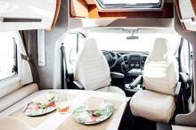 Interior Of White Clean Motor ...
