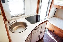 Sink Inside Motor Home