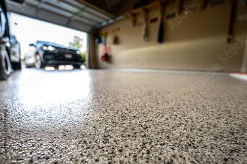 Obraz na plátně epoxy garage floor
