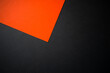 Abstract black and orange background, brochure, wallpaper, website template