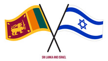 Sri Lanka And Israel Flags Cro...