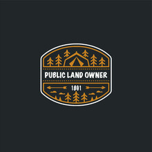 Public Land Owner Camping Over...