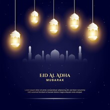 Eid Al Adha Background. Fit Fo...