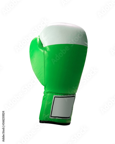Green protective boxing glove Poster Mural XXL