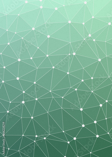 Light Seafoam Green color Abstract color Low-Polygones Generative Art background illustration