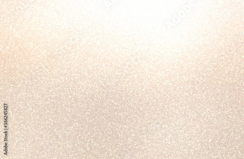 Shiny sanded empty wall. Light beige textured background. Fototapet