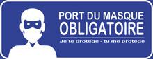 Affiche Pour Le Port Du Masque...