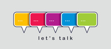 Communication Concept Shown Wi...