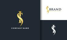 SI Luxury Elegant Logo