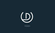 Alphabet Letter Icon Logo UD O...