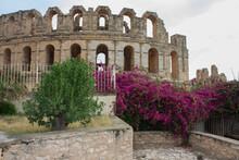 Tunisia Amphitheatre Of El Jem