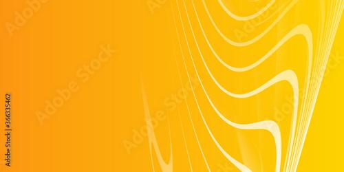 Fototapeta Template corporate concept yellow orange grey and white contrast presentation ba