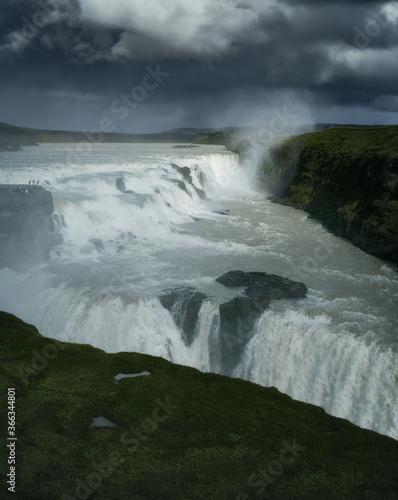 Fototapeta Gullfoss waterfall in South Iceland. Beautiful nature landscape obraz