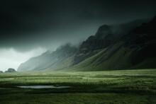 Iceland Beautiful Nature Drama...