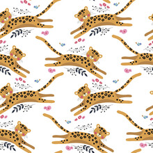 Seamless Vector Pattern With F...