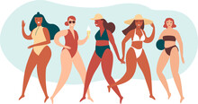 Various Body Positive Girls We...