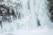 Horsetail Falls Following An I...