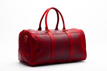 Duffel Bag Travel Case Leather Holdall Valise Fashion Modern
