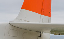 Tail Section Of Small Aircraft