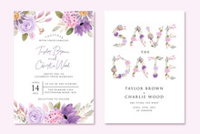 Wedding Invitation And Save Th...