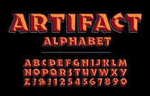 Artifact Alphabet Is A Bold Ro...