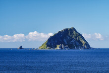Keelung Seascape - Famous Keelung Islet With Morning Blue Bright Sky, Shot From Heping Island Park In Zhongzheng District, Keelung, Taiwan.