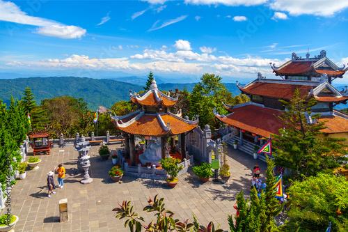 Pagoda at Ba Na Hills.