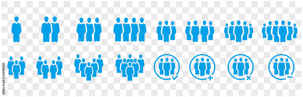 Fototapeta people and population icon set,vector and illustration