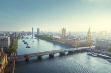 Westminster Aerial View, Londo...