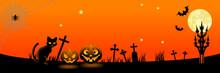 Halloween Night In Spooky Grav...