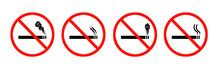 No Smoking Signs And Symbols C...