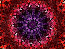 Beautiful Anstract Mandala Round Design