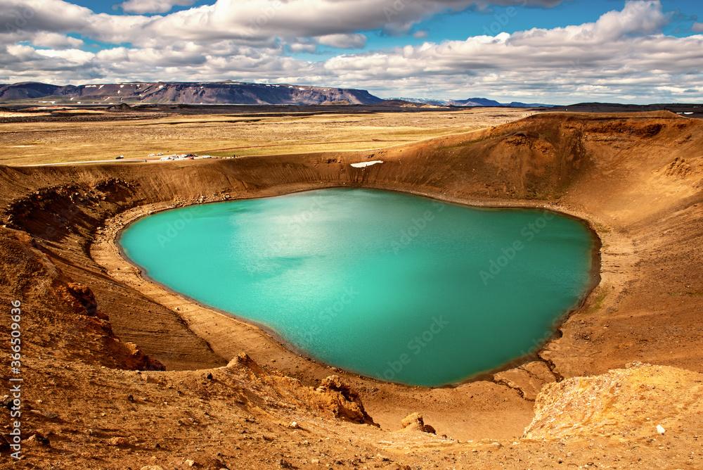 Fototapeta Volcano crater Viti