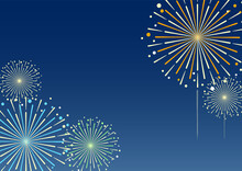 Fireworks Background Illustrat...