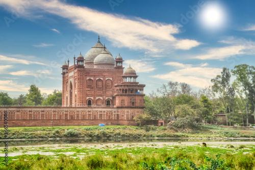 Valokuvatapetti Red Fort in Delhi. UNESCO world Heritage Site