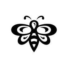 Bee Logo. Icon Design. Templat...