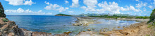 Panoramic View Of La Belle Creole On The Caribbean Island Of St.maarten/st.martin