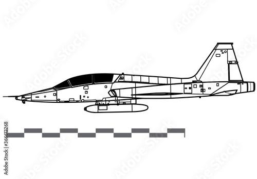 Photo Northrop T-38 Talon