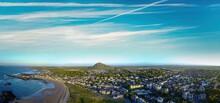 Aerial View Of North Berwick, East Lothian, Scotland, UK.